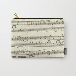 Lovely music note print Carry-All Pouch