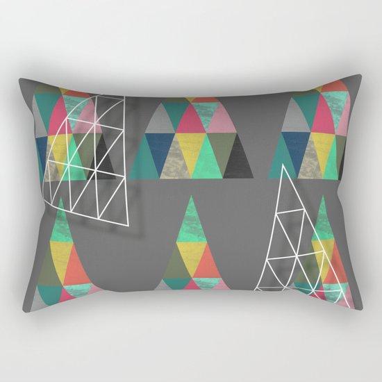 Xmas Trees Rectangular Pillow