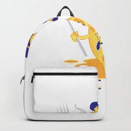 Mac n Cheese Spaghetti Pasta Design Mac and Cheese Gift Backpack