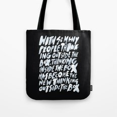 GET BACK IN THE BOX Tote Bag