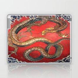 Dragon by Hokusai Laptop & iPad Skin