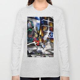 Bowery Graffiti Long Sleeve T-shirt