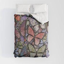 butterflies galore grunge version Comforters