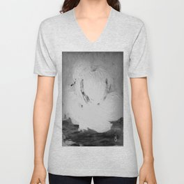 Abstract in Nature Shadows Unisex V-Neck