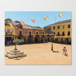 Villalpando Plaza Canvas Print