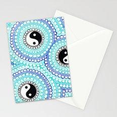 Yin & Yang Doodle Stationery Cards