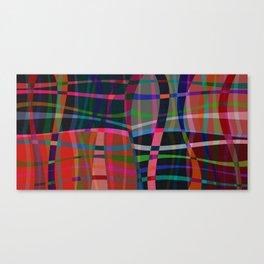Wobble Weave Bold Canvas Print