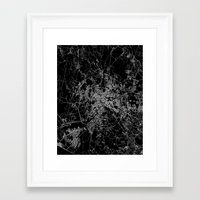 rome Framed Art Prints featuring Rome by Line Line Lines
