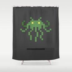 Cthulhu Invader Shower Curtain
