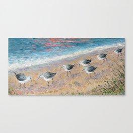 Dune Birds Canvas Print