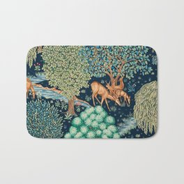 "William Morris ""The Brook"" Bath Mat"