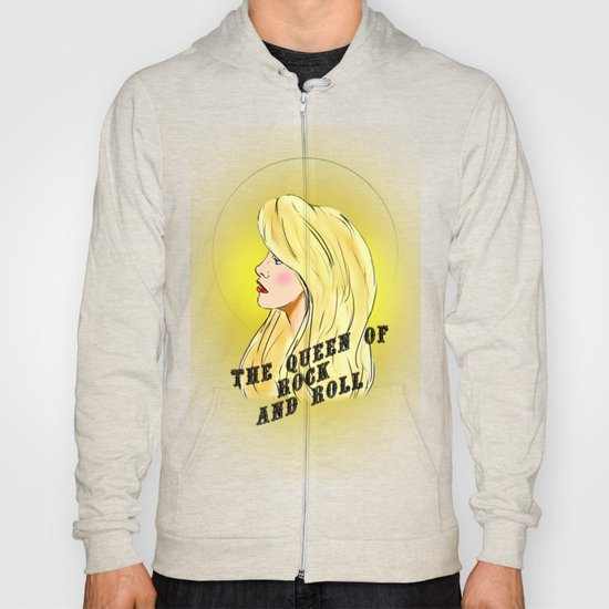 The Queen of Rock and Roll Hoody