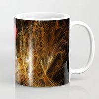 passion Mugs featuring Passion by LudaNayvelt