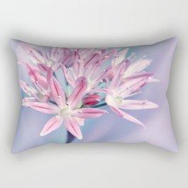 Allium pink 014 Rectangular Pillow
