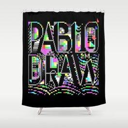 PabloDraw Shower Curtain