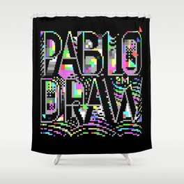 PabloDraw Shower Curtain