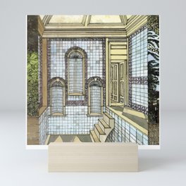 BATH HOUSE Mini Art Print