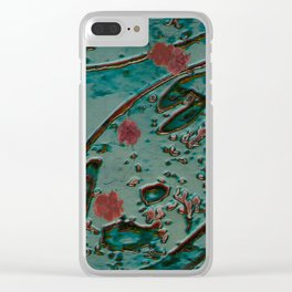 Cherry Blossom Time Clear iPhone Case