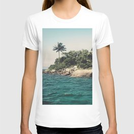 Lost Paradise Off the Coast of Ilha Grande, Brazil T-shirt