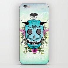 Rain Skull iPhone & iPod Skin