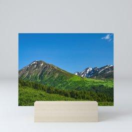 Alaskan Summer Greens - 1 Mini Art Print