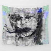cara Wall Tapestries featuring Cara by wildunit