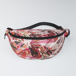 Animal Print Butterfly Fanny Pack