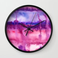 Improvisation 22 Wall Clock