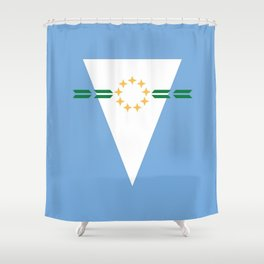 flag of Formosa (argentina) Shower Curtain