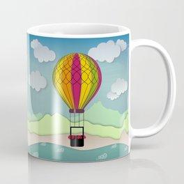 Balloon Aeronautics Sea & Sky Coffee Mug