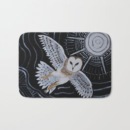 Night Owl Bath Mat