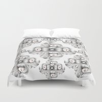 sin city Duvet Covers featuring Sin titulo. by Raquel  Carrero .