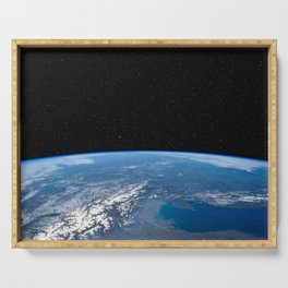 Earth and Stars Serving Tray