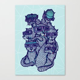 Art School Canvas Print