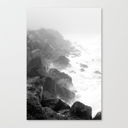 The Rocks of Halfmoon Bay Canvas Print