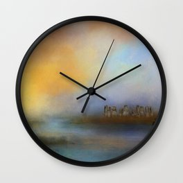 Monoliths - Who Were We Wall Clock