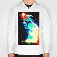 storm trooper Hoodies featuring STORM TROOPER by shannon's art space
