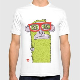005_monkey glasses T-shirt