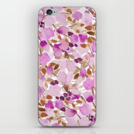 Woodland Blooms iPhone Skin