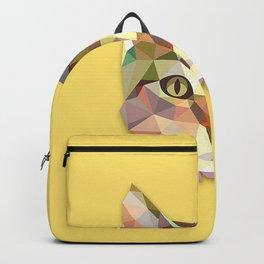 Geometric Cat Backpack