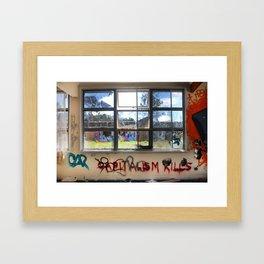Capitalism Kills Framed Art Print