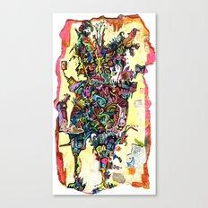 Neon Indian Canvas Print