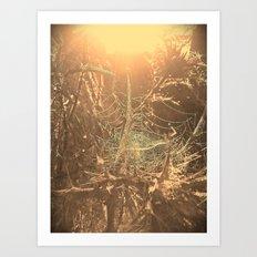 Gothic sunrise Art Print