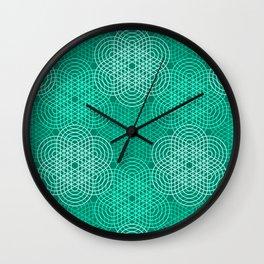 Op Art 76 Wall Clock