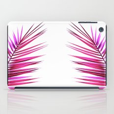 pink palm leaf II iPad Case