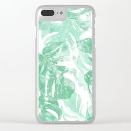 Lets Get Tropical Clear iPhone Case
