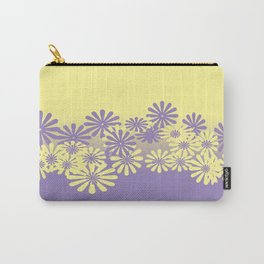Lavender and Lemon Pattern Carry-All Pouch