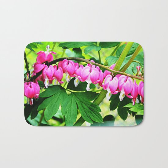 Bleeding Hearts Bath Mat