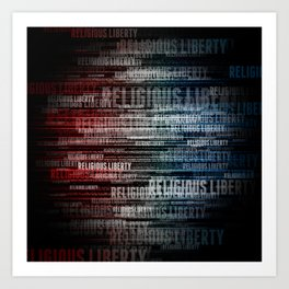 Religious Liberty Art Print