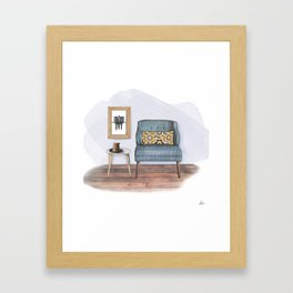 Comforts & Cookies Framed Art Print